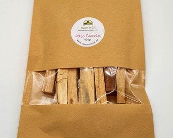 Palo Santo Smoked Wood 40 gr aromafreshly closed AAA Quality 20138 Base price 1 kg / 152.50 Euro