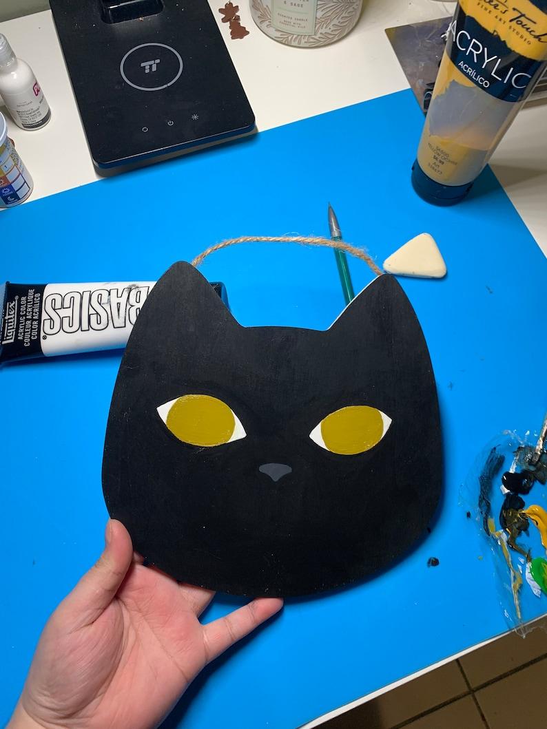Custom Cat Head Wall Plaque  Custom Pet Art  Custom Cat Art  Custom Cat Wall Plaque
