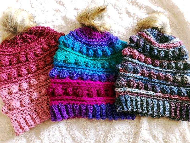 The Eira Beanie  Crochet Pattern image 0