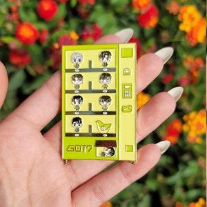 Exo Vending Machine Pin
