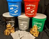 Yardzee and Yarkle Yard Game