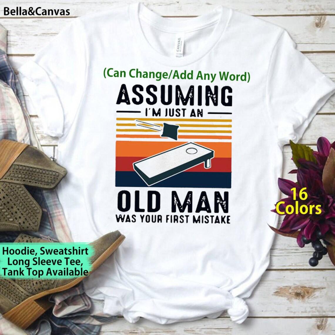 Bett Kissen unter der Annahme ich bin nur ein alter Mann