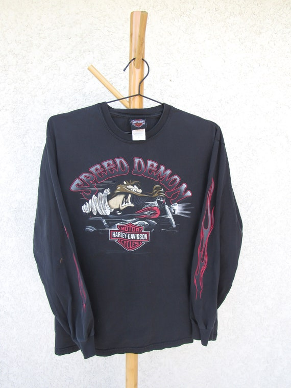 Harley Davidson / Looney Tunes Long Sleeve Shirt