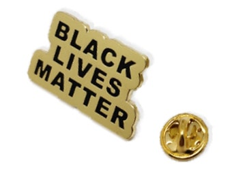 United Airlines Official Black Lives Matter BLM Lapel Pin Metal Collectible