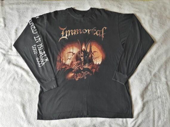 Vintage 2000 Immortal Tour Long Sleeve T-Shirt XL