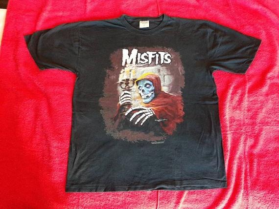 Vintage 1998 Misfits Tour T-Shirt L . Punk Rock Mi