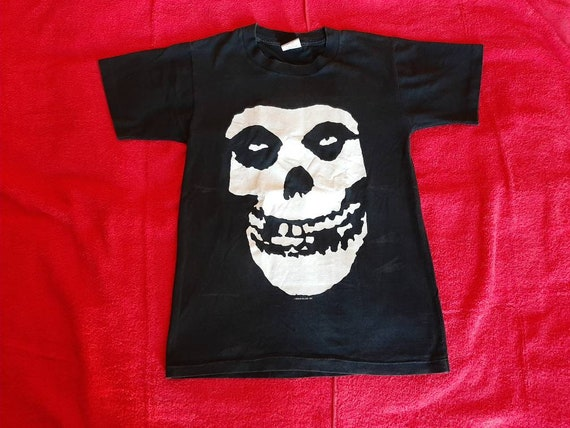 Vintage 1998 Misfits Tour T-Shirt M . Punk Rock Mi