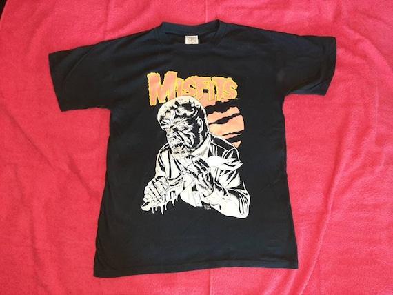 Vintage 2000 Misfits Tour T-Shirt L . Punk Rock Mi