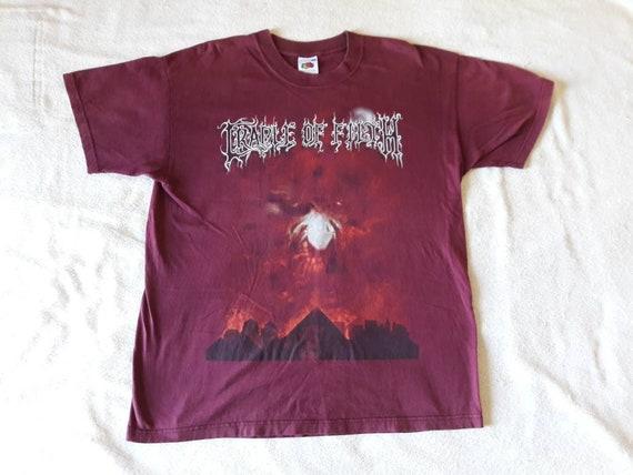 Vintage 2000 Cradle Of Filth T-Shirt XL Death Meta