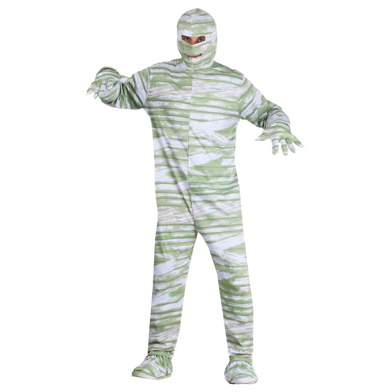 Costume dress Halloween mask and adult carnival from mummy
