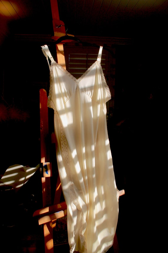 Vintage Nylon Slip Dress