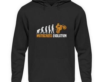 MOTOCROSS EVOLUTION DES MENSCHEN KINDER KAPUZENPULLOVER HOODIE JUNGEN MÄDCHEN