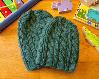 Baby Cable Knitted Hat