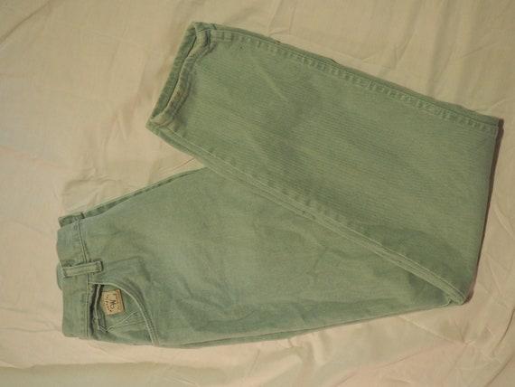 80s Mint Green Vintage Wranglers for Women Mom Je… - image 1