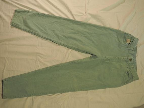 80s Mint Green Vintage Wranglers for Women Mom Je… - image 3
