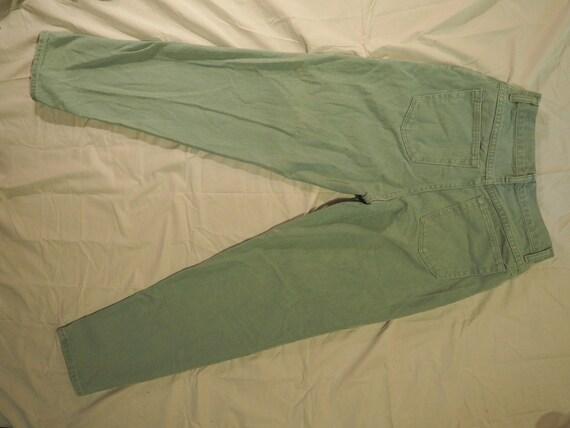 80s Mint Green Vintage Wranglers for Women Mom Je… - image 5