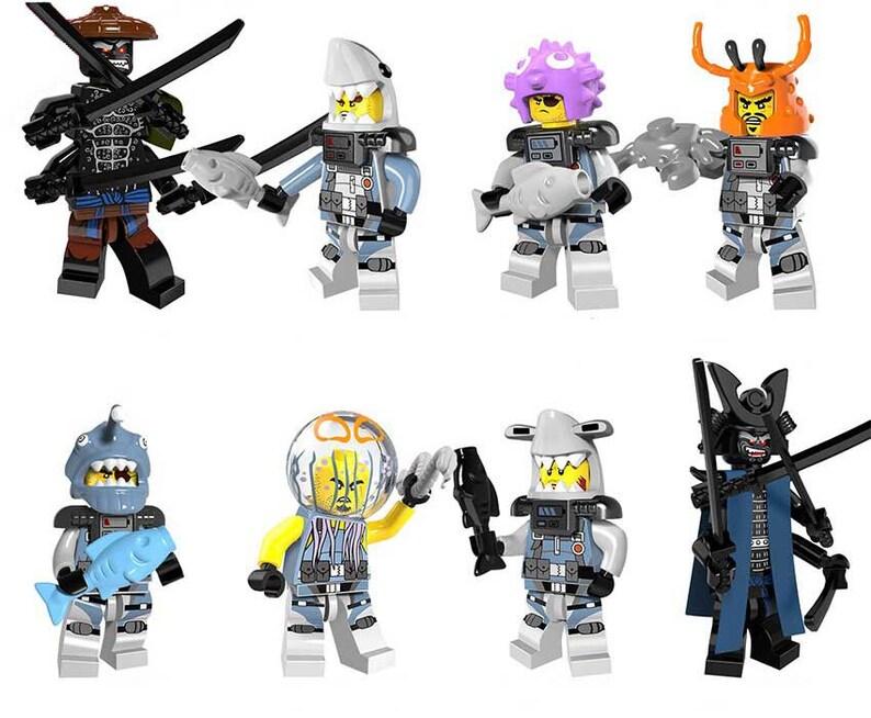 Tiger king Minifigures Movies /& TV toys Avengers Terminator Spiderman GI Joe batman spawn harry potter ET wolverine Deadpool new mini figure