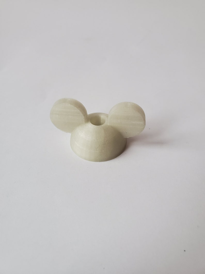 Multiple Colors Mouse Ears Straw Topper Straw Buddy