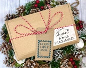 Christmas Wax Melt Gift Box for Him or Her. Highly Scented Soy Wax Snap Bars. Variety of Xmas Eco Friendly Vegan Wax Tarts for Wax Burner.