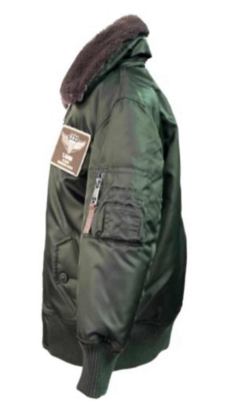 Top Gun\u00ae Kids B-15 Wings Bomber jacket Olive