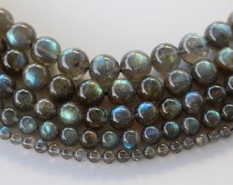 6mm or 8mm. Labradorite Natural Pearls 4mm