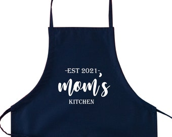 Mom and Daughter Matching Aprons Mommy and Me Aprons Free Personalization Gift for Mom Personalized Mothers Day Mother Daughter Aprons