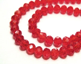 Natural Red Aventurine Micro Faceted Rondelle Beads 2.5mm 17 Strand