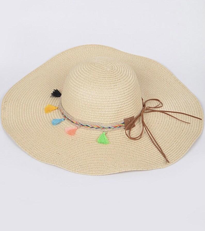 Summer Tassel Hat