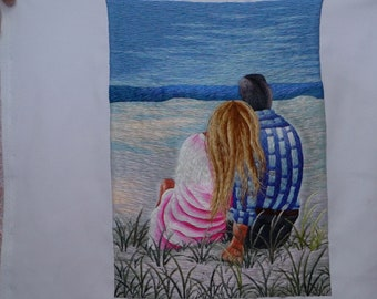 Vietnamese Handmade Embroidery [Handmade Needlework] 100% Guaranteed!!! HEB22- No have frame