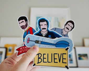 Ted & Roy Sticker Quote Bundle
