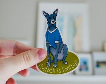 Earl Greyhound Dog | Waterproof Sticker