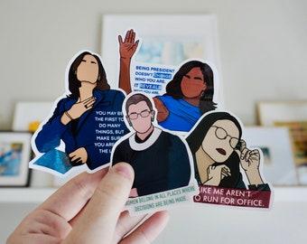 Women in Politics Sticker Bundle
