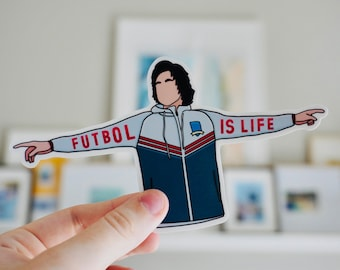 Football is Life | Character Sticker