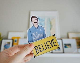 Ted & Believe Sticker Set
