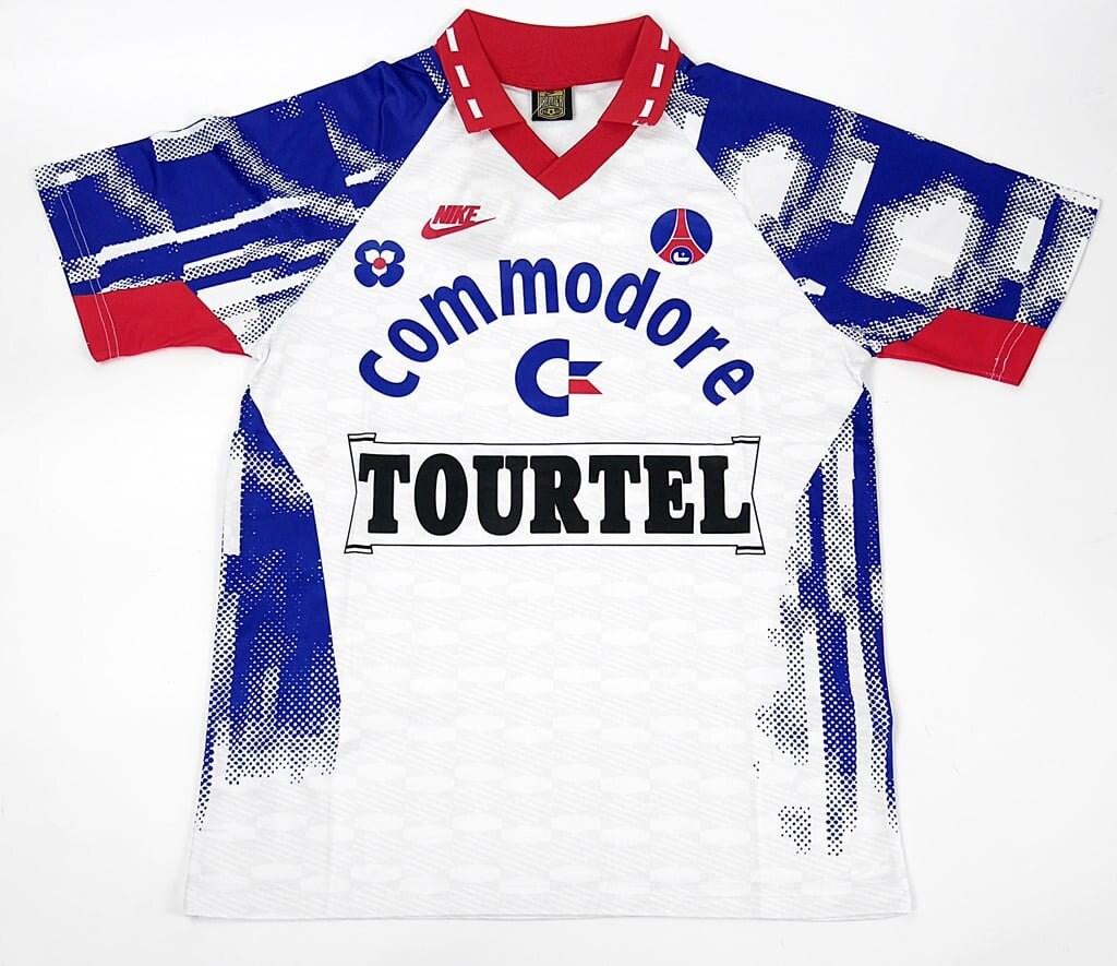 Paris Saint Germain 1992-1993 Away Soccer Jersey Football Shirt Trikot S M L XL XXL