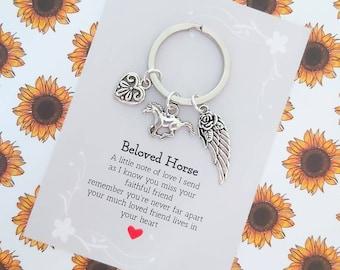 Horse Loss Gift - In Memory of Beloved Horse, Memorial, Sympathy, Keepsake