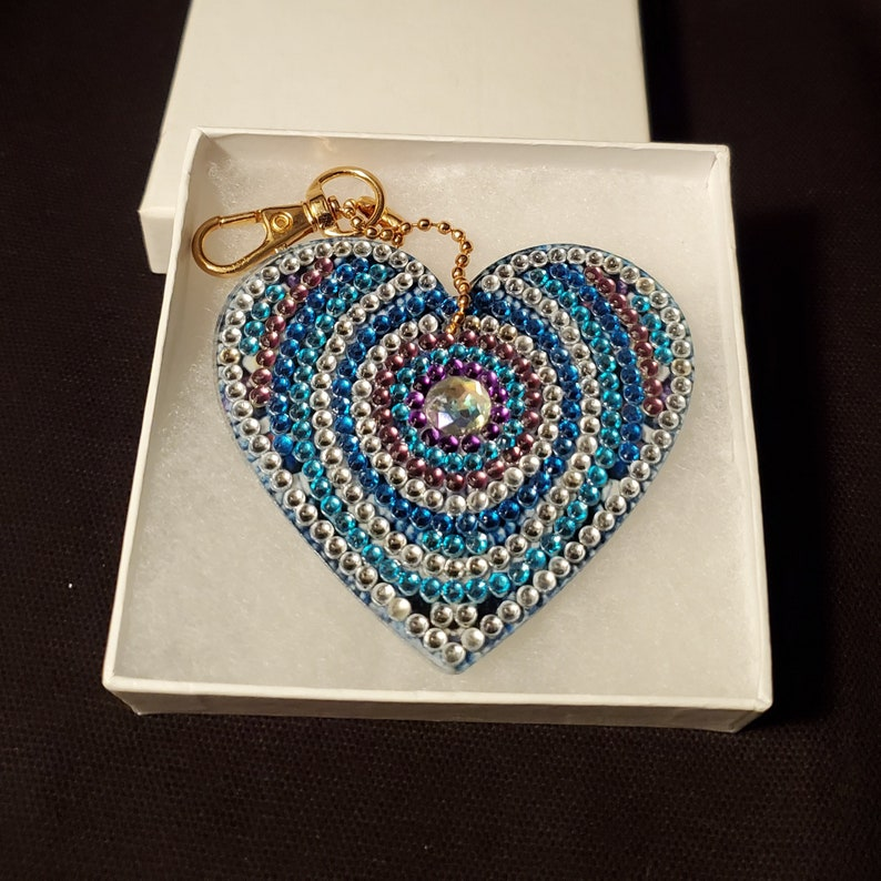 Mother/'s Day Gift Heart Keychain For Women