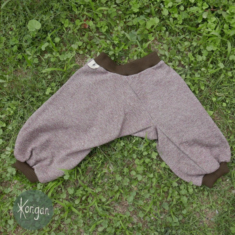 brown very comfortable warm for winter cotton knit Unisex panties