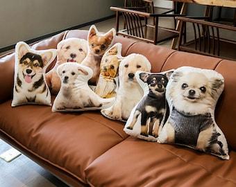 Custom Pet Pillow   Personalized Pillow   Pet Memorial Gift   Custom shaped pillow   Dog Pillow   Cat Pillow   Pet Lover Gift