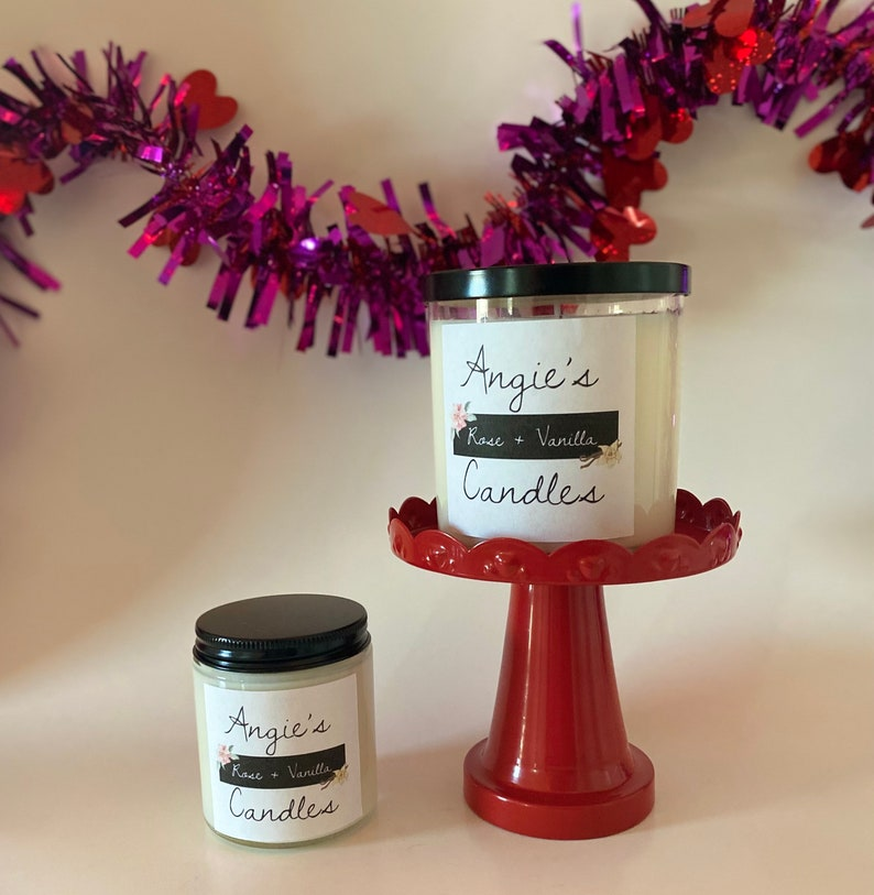 Rose Vanilla Candle