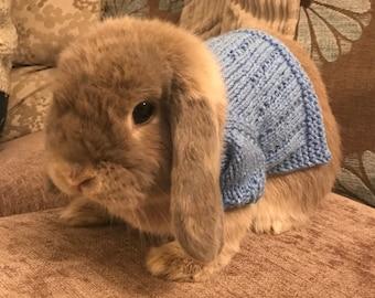 Hand Knitted Holland Lop Bunny Rabbit Medium