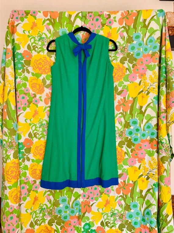 Deadstock Original Vintage 60s Mod Shift Dress Ret