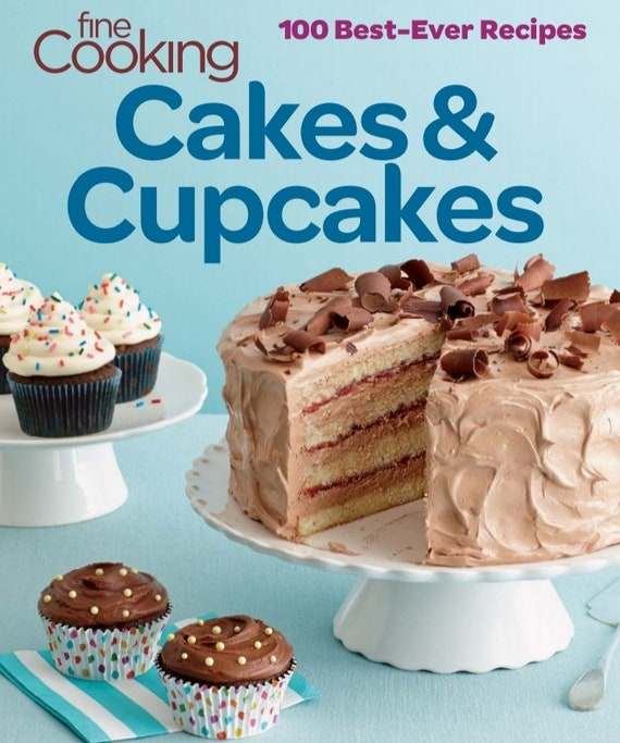 Cake and Cup cakes 100 Best Recipes Ebook Pdf Digital download