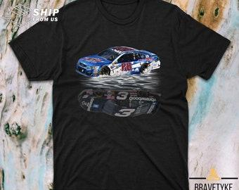 Nascar Racing Drivers Dale Earnhardt 3 And Dale Earnhardt JR 88 T Shirt