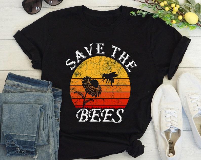 Honeybee shirt, Bee Lover Shirt Bee Keeping Awareness Shirt Bee Lives Matter Save the Bees Classic T-Shirt Funny Honey Bee Gift