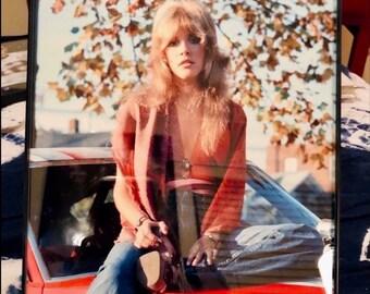 STEVIE NICKS POSTER 8x10 Framed Photo. Fleetwood Mac. Vintage 1970S