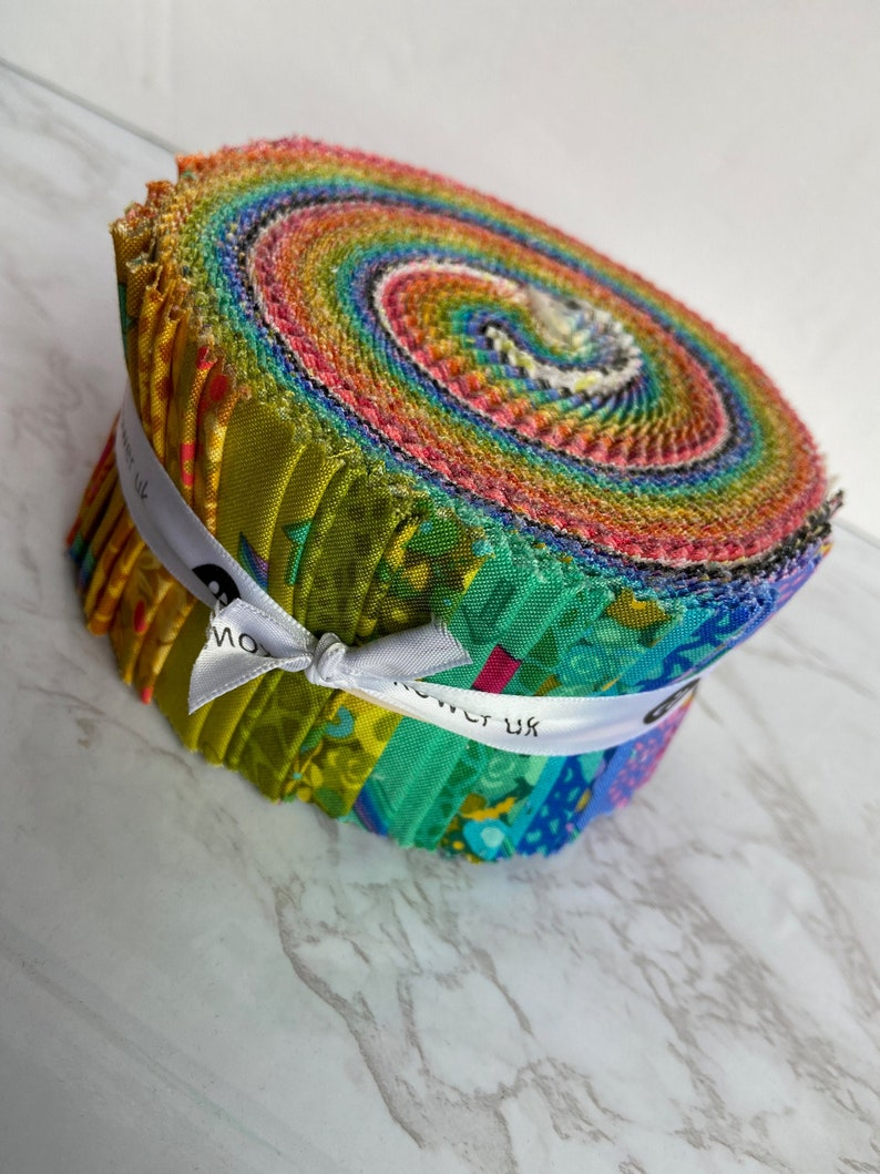 Alison Glass Sun Print 2021 Pre-Cut Jelly Roll Fabric 40 Pieces