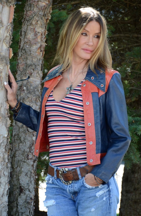 Rare 70s leather jacket
