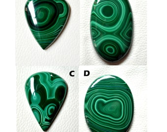 Jewelry Designer Focal Stone Loose Blue Green Composite Stone Cabochon Azurite Malachite Cabochon
