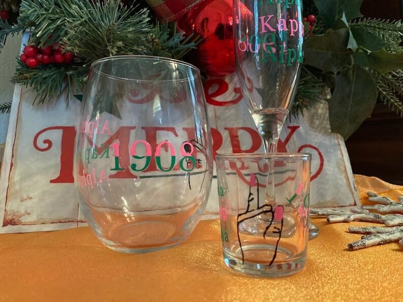 Sorority Glass Sets